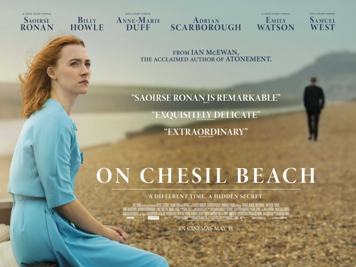 Poster of the film with Saoirse Ronan