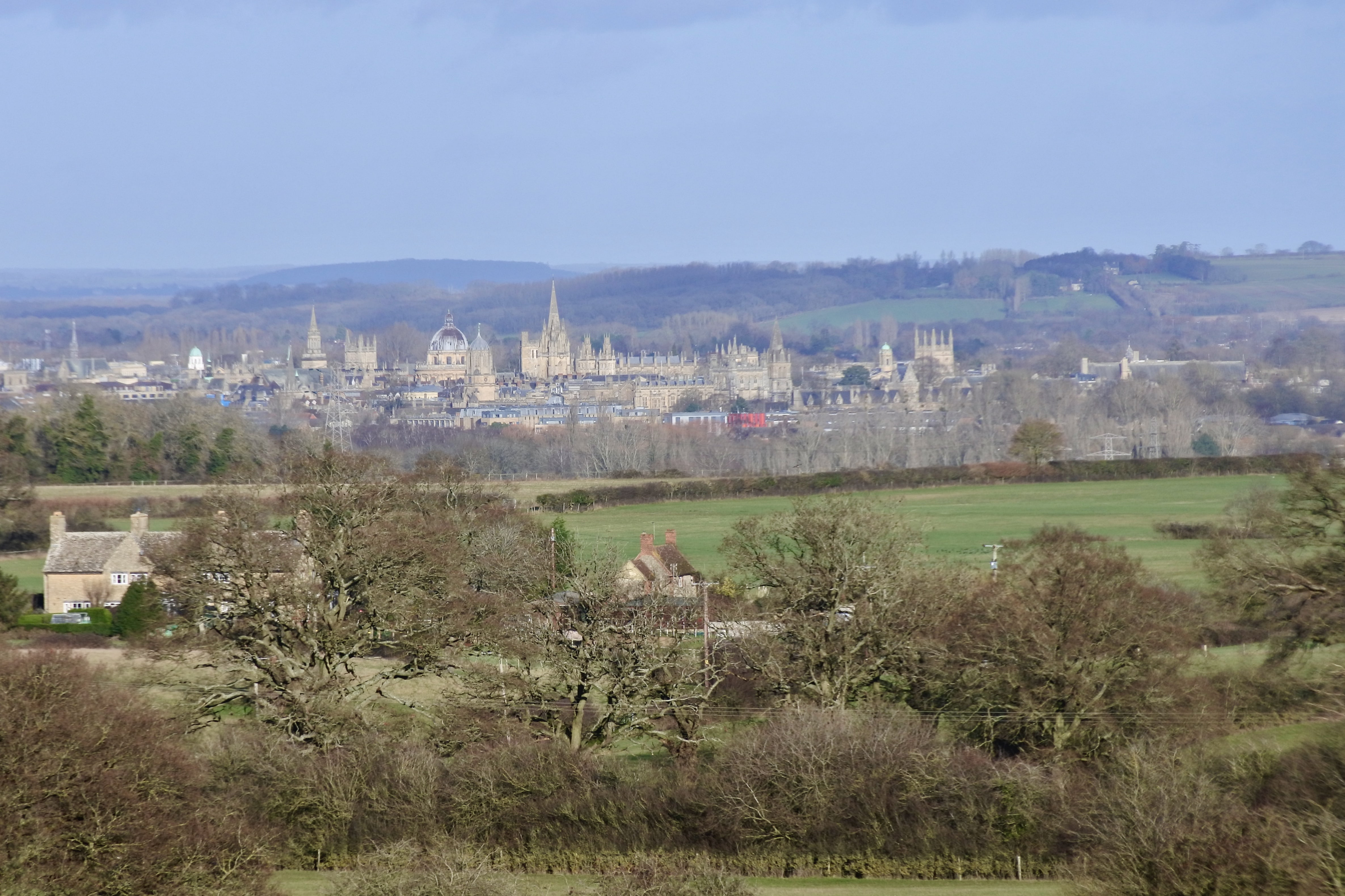 Oxford from Boars Hill