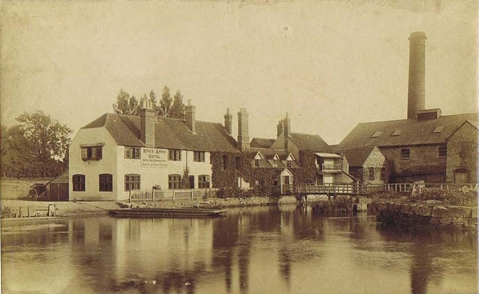 Kings Arms, Sandford, 1890